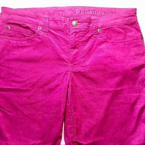 Gap Premium Skinny Size 6 Pink Corduroy Jeans